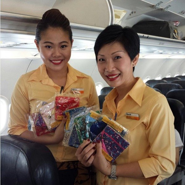 Tiger Airways crew