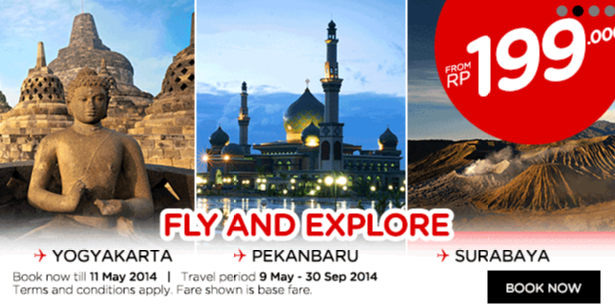 Fly and explore AirAsia
