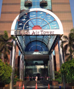 Lion air tower central jakarta