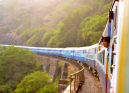 Open jaw ticket india train